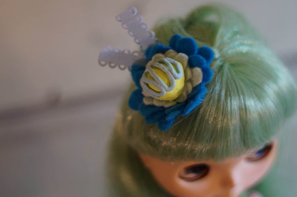 Image of OOAK Candy Hat by Rhodora Jacob: A Date w/Blythe Auction