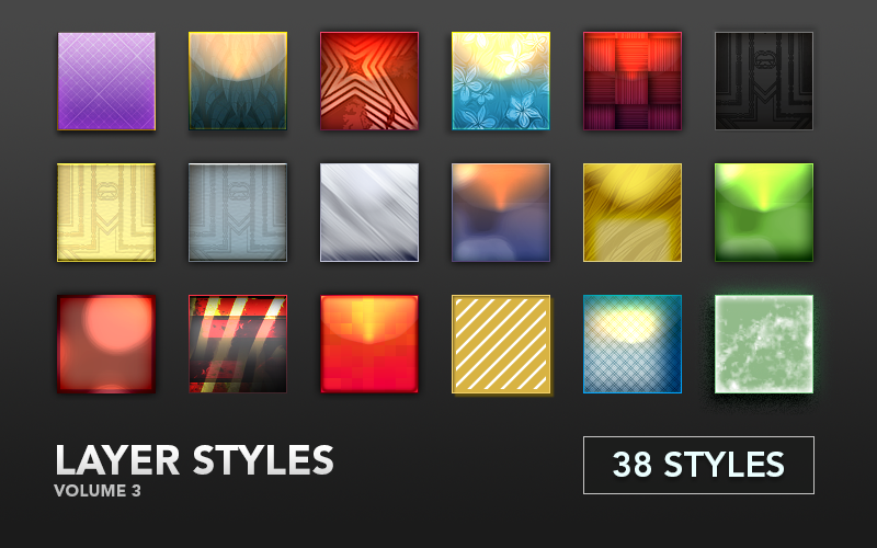 Image of Layer Styles Volume 3