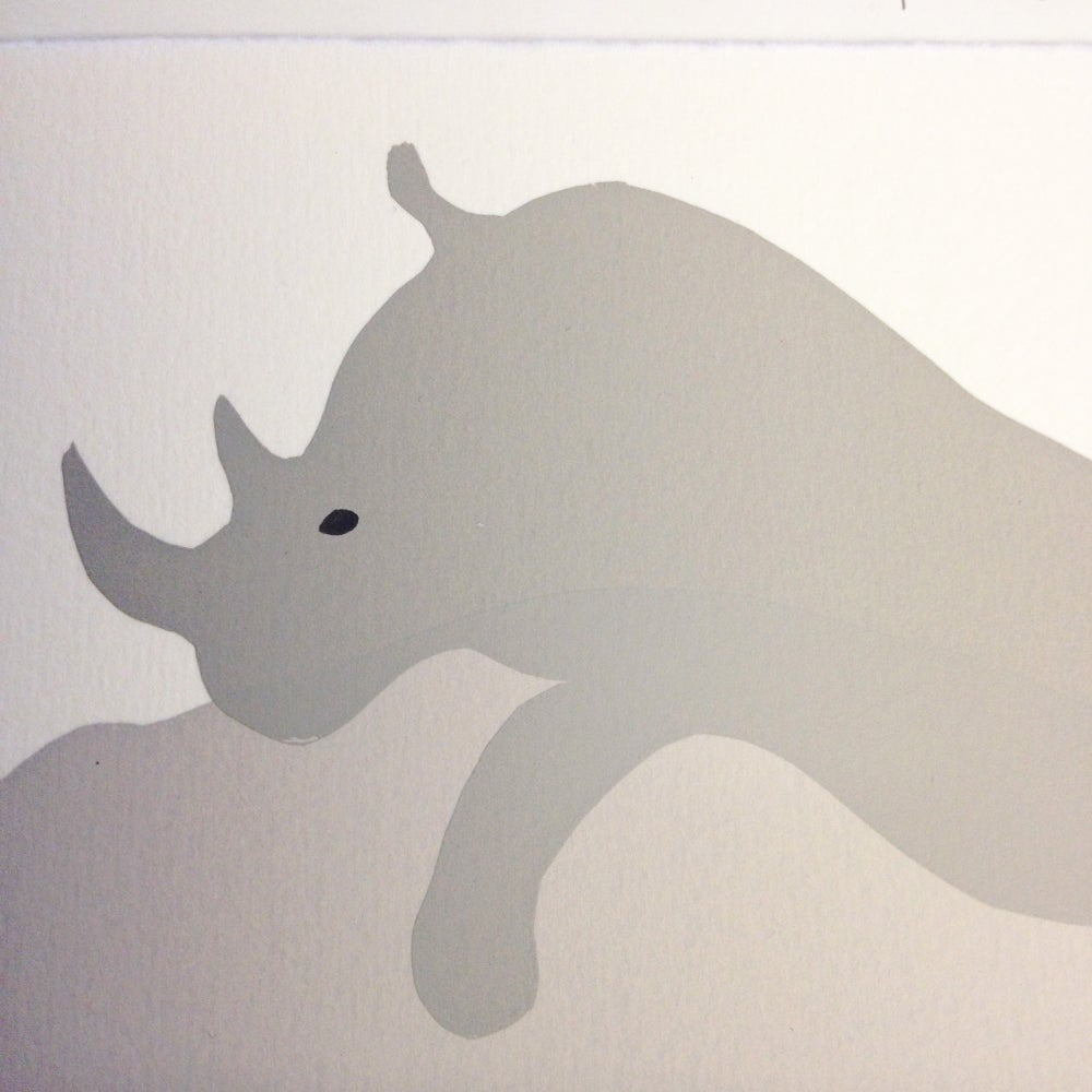 Image of Romantic Rhino
