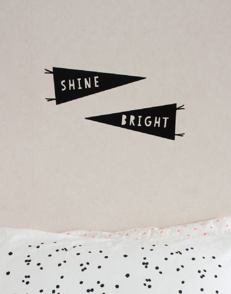 Image of On sale Shine Bright wall sticker