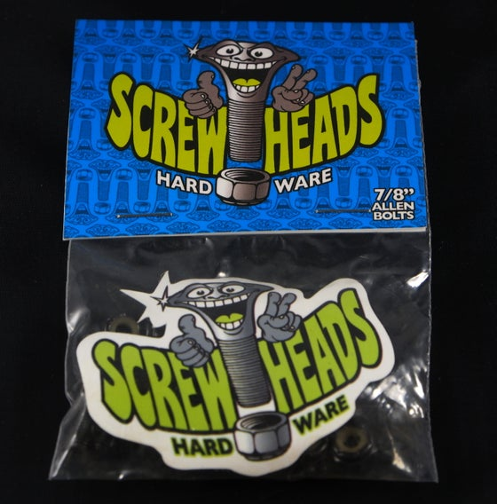 Image of Screwheads bolts