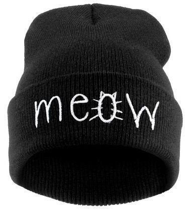 Image of MEOW Beanie Hat
