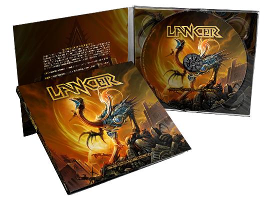 Image of LANCER - Second Storm [CD in digipac]