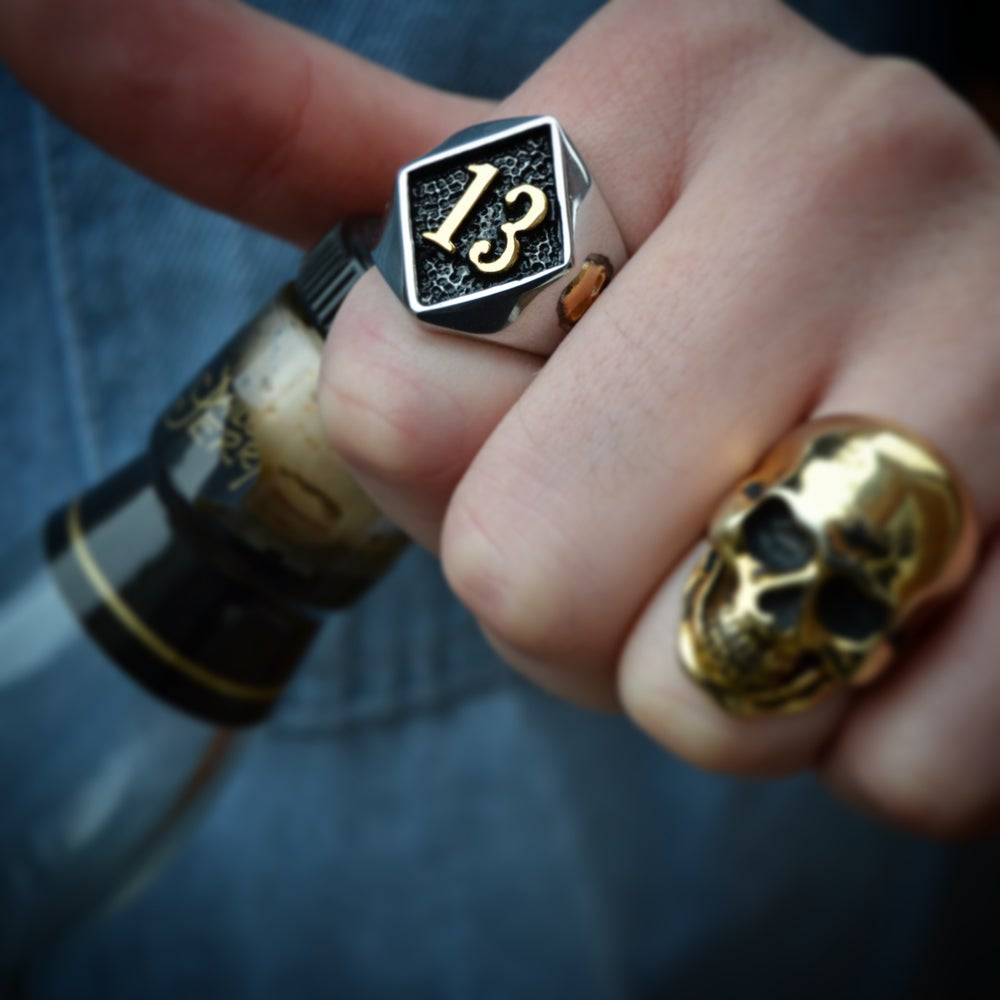 Image of Need Luck 13 Ring