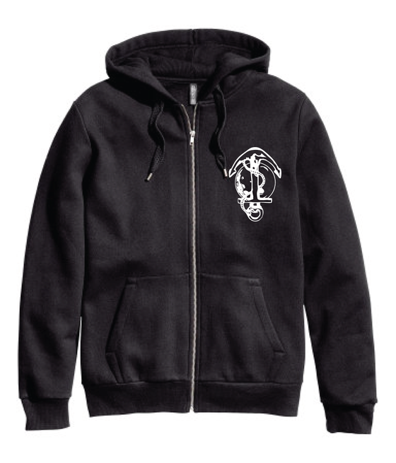 Image of UNanchored Logo Hoodie Black