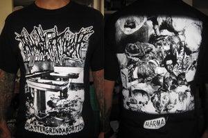 "Image of RITUAL FLESH ""Splattegrindabortion""  Shirt"
