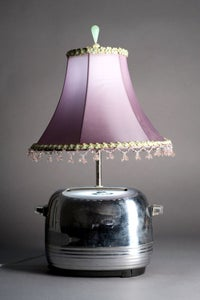 Image of Vintage toaster lamp