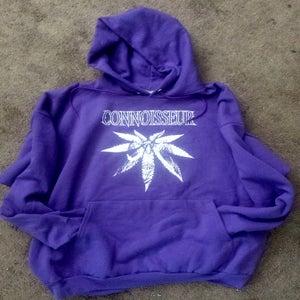 Image of Connoisseur Purple Hoodie