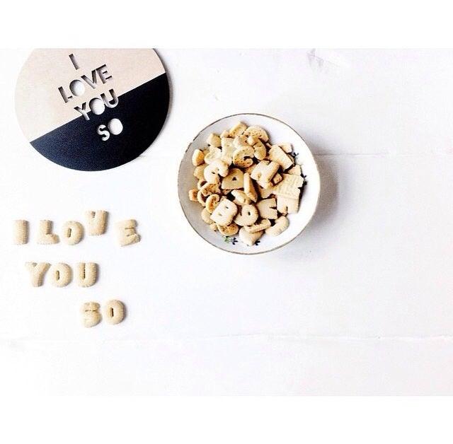 Image of I LOVE YOU SO | DIP PLAQUE