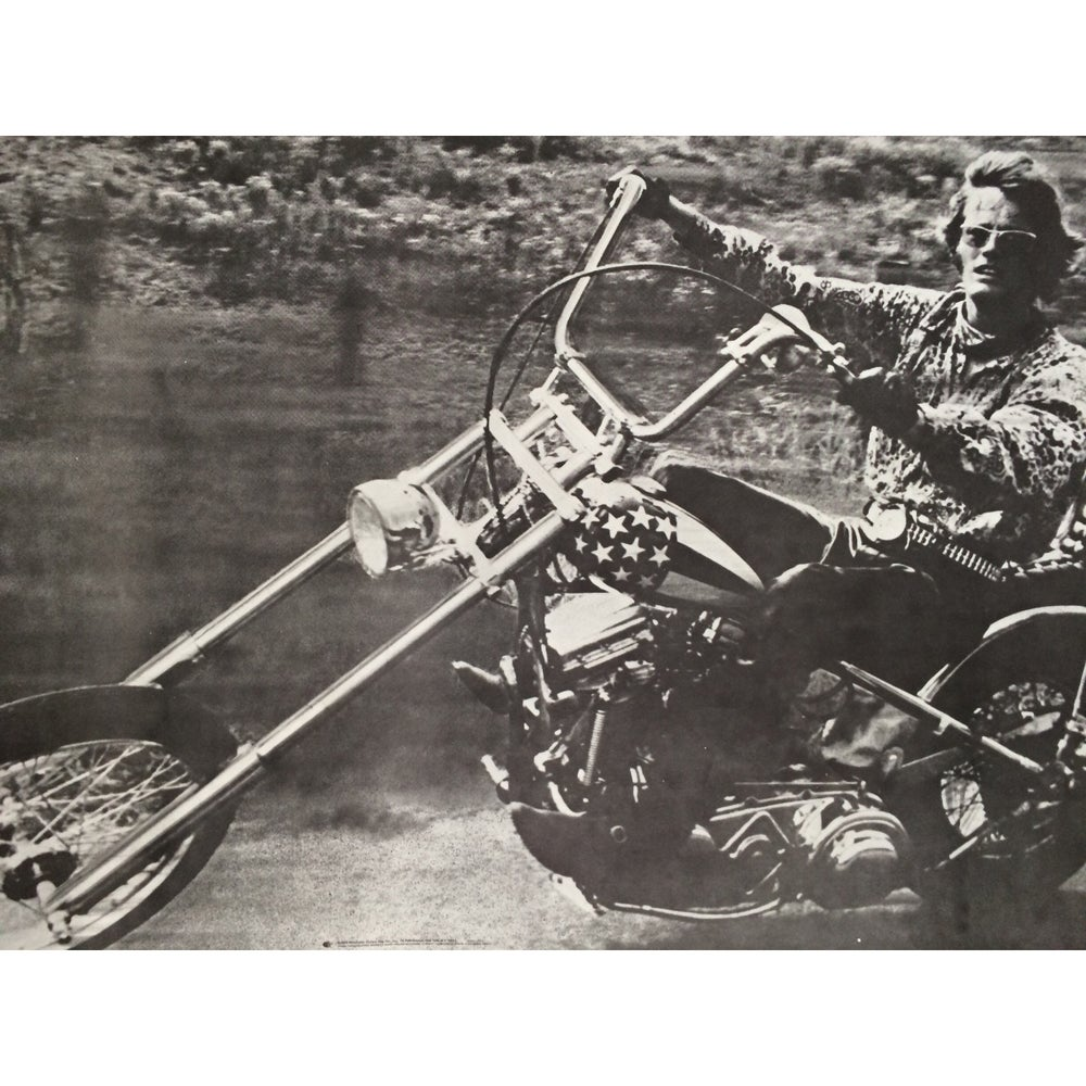 Image of GIANT Vintage Easy Rider Poster