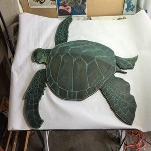 "Image of Original ""Sea Turtle""cut out"