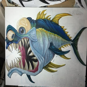 "Image of Original""Big Yellowfin Tuna"" cutout"