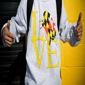 Image of  LOVE Crew Neck Sweatshirt