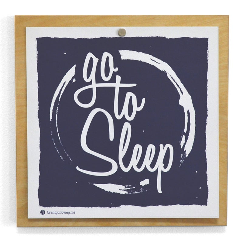 Image of Go to Sleep 9x9