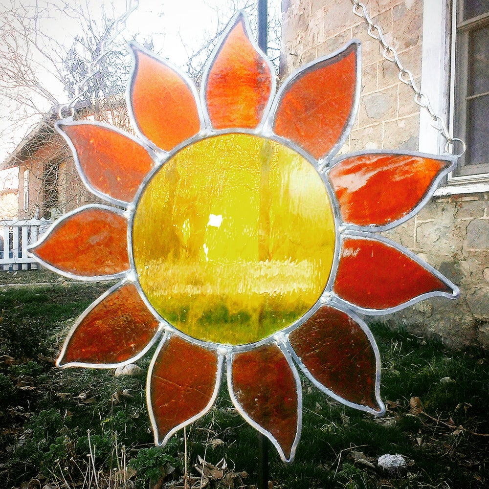 Image of Sunshine-stained glass