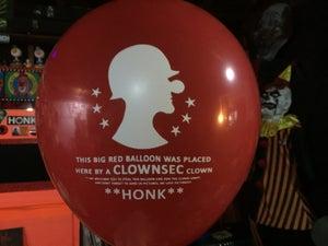 Image of Clownsec Clown Army Balloon!