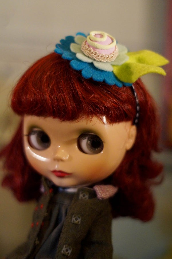 Image of Candy Hat Pink by Rhodora Jacob: Date w/ Blythe Auction