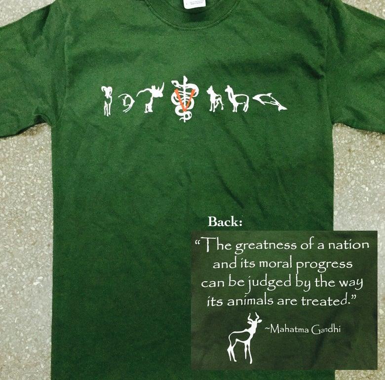 Image of Toxoplasma Ghandi SHORT SLEEVED T-shirt