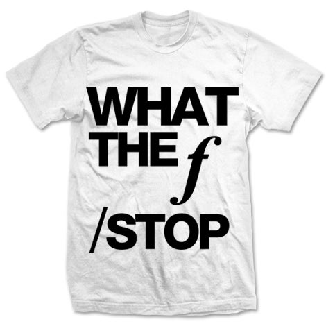 Image of f Stop White