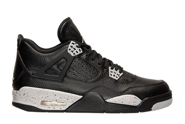 "Image of AIR JORDAN 4 RETRO ""OREO"""