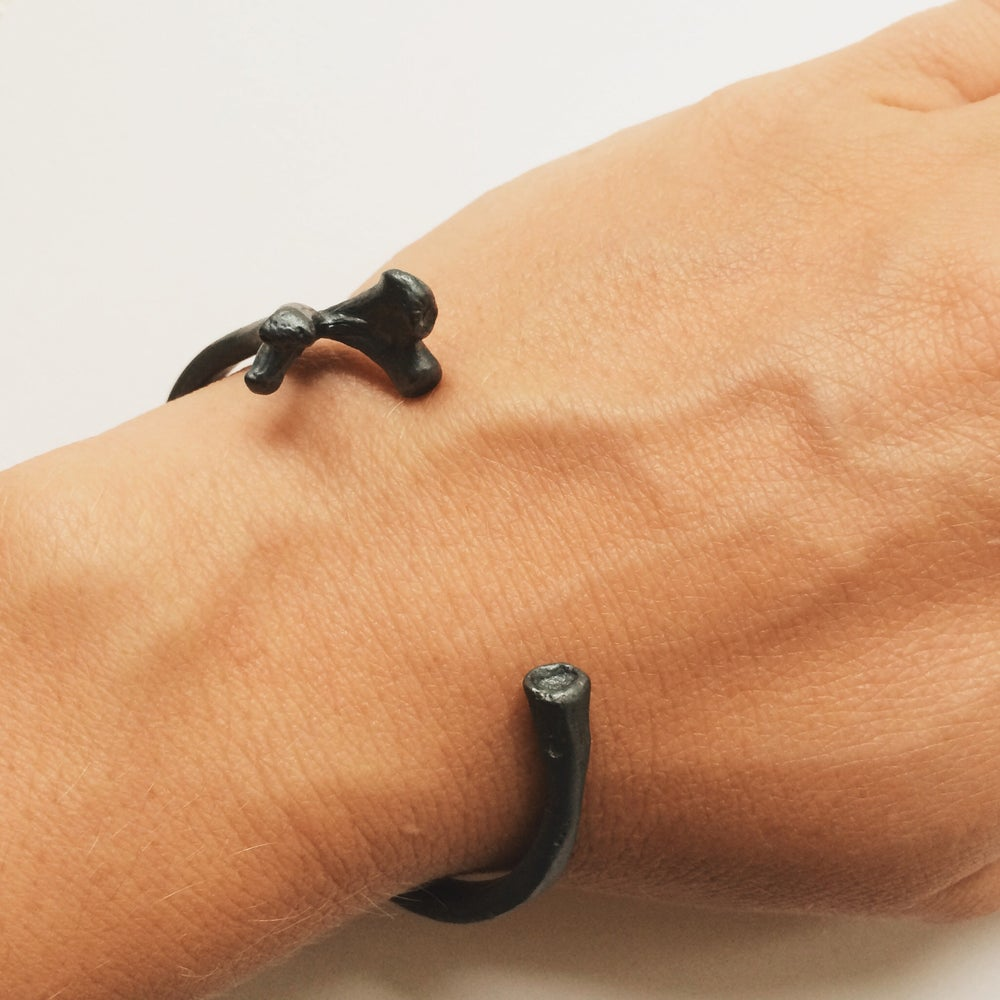 Image of Bells Cuff - oxidized