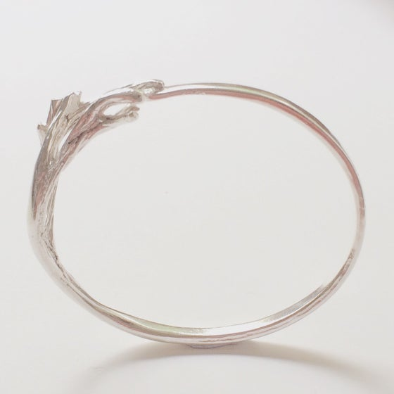 Image of Bells Beach I - silver bangle
