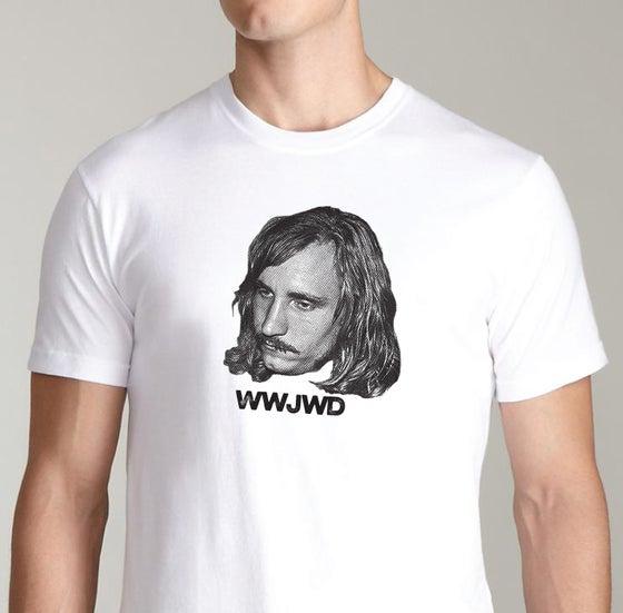 Image of What Would Joe Walsh Do T-shirt  (WWJWD)
