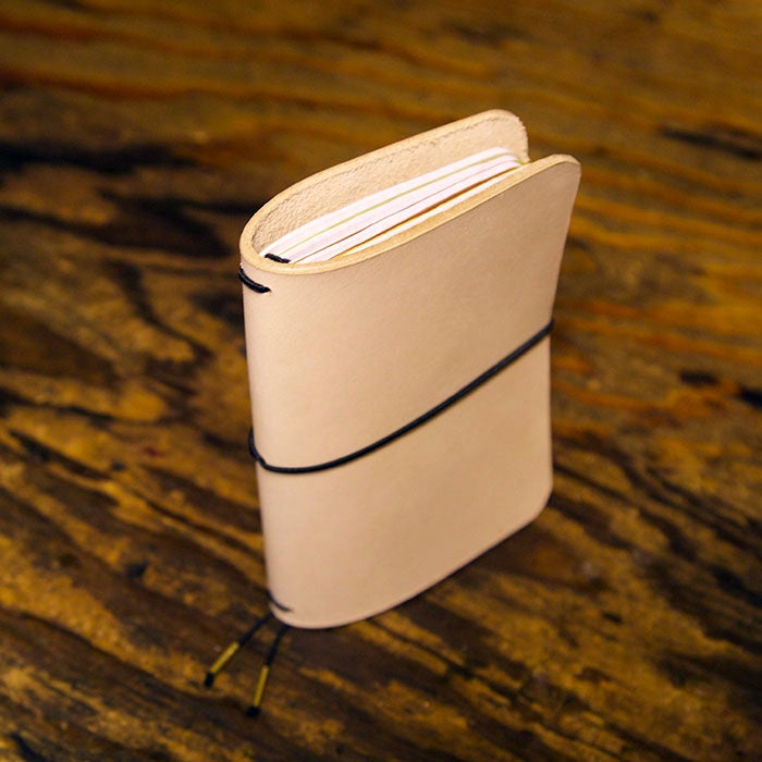 Image of Quad Field Notes Leather Notebook Cover