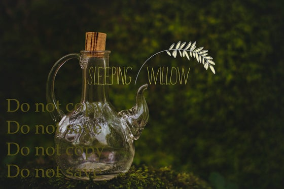 Image of Digital Spring Moss Fairy Layered Template - Sleeping Willow Template