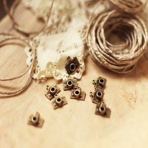 Image of Camera charms - antique brass- photographer packaging