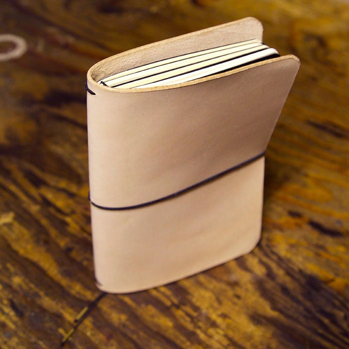 Image of Quad Moleskine Cahier Leather Notebook Cover