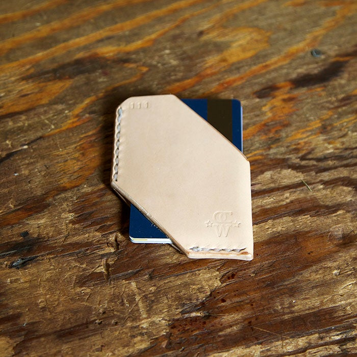 Image of Minimalist's Leather Sheath Wallet