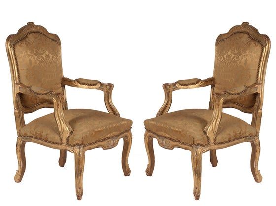 Image of Pair of Vintage Chairs