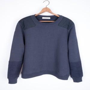 Image of John Undercover - Patched Cotton Fleece Sweatshirt