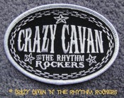 Image of CRAZY CAVAN - OVAL CLOTH PATCH