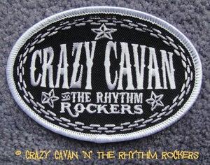 Image of CRAZY CAVAN - OVAL CLOTH PATCH