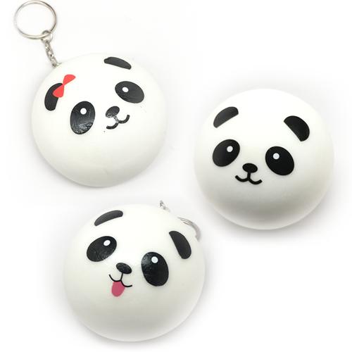 Squishy Toys Big W : Earth Nest ? Squishy Panda Bun with keyring