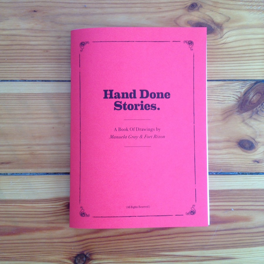 Image of Hand Done Stories Book
