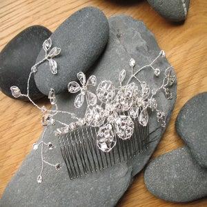 Image of Vintage style diamante comb