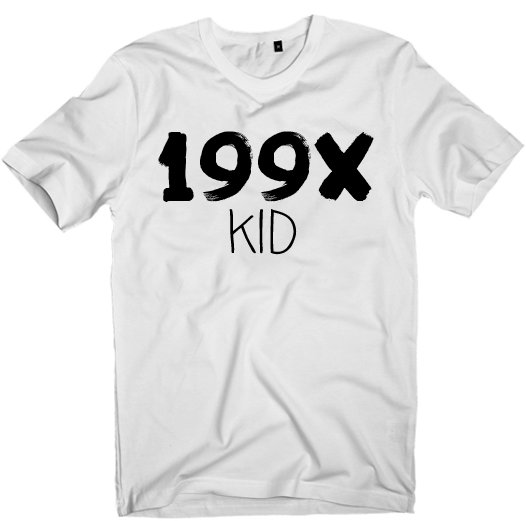 Image of 90s KID graphic T-shirt