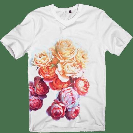 Floral t shirt graphic t shirts designs shop for Graphic t shirt shop