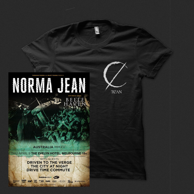 Image of Tee + Norma Jean Ticket Bundle