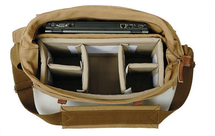 Fashion Green Canvas Camera Bags Camera DSLR Bag Laptop Camera Bag ...