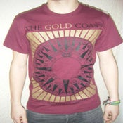 Image of The Gold Coast 'Compass' Burgundy LIMITED EDITION!!!!