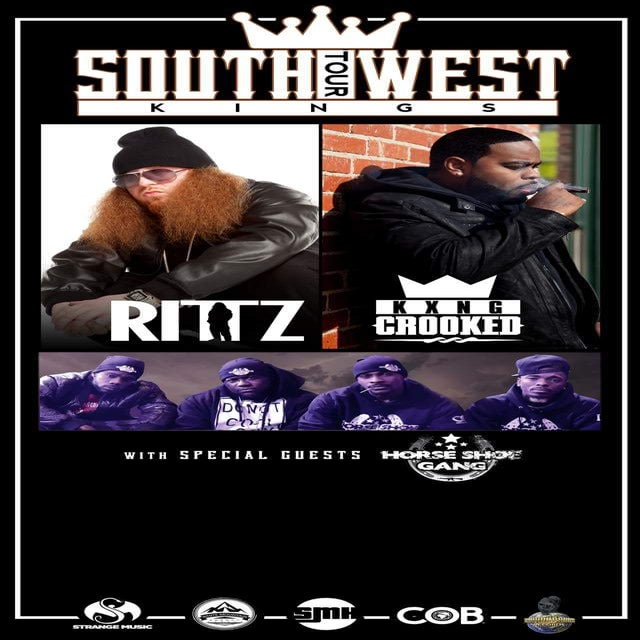 Image of Rittz & KING Crooked (Crooked I) @ the Emerson Theater