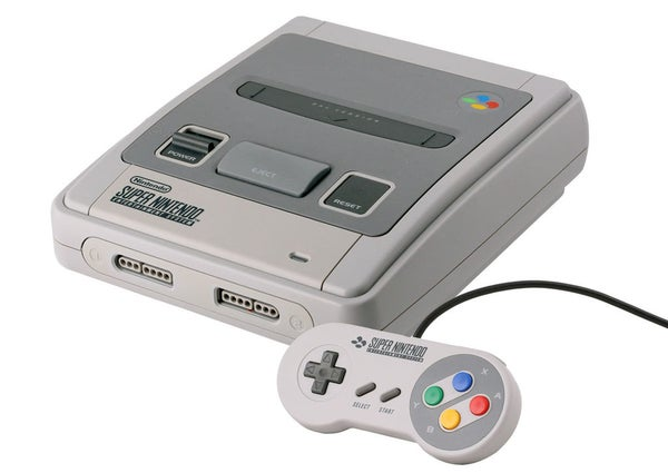 Image of super nintendo