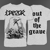 "Image of Shirt ""Out Of The Grave"" Grey"