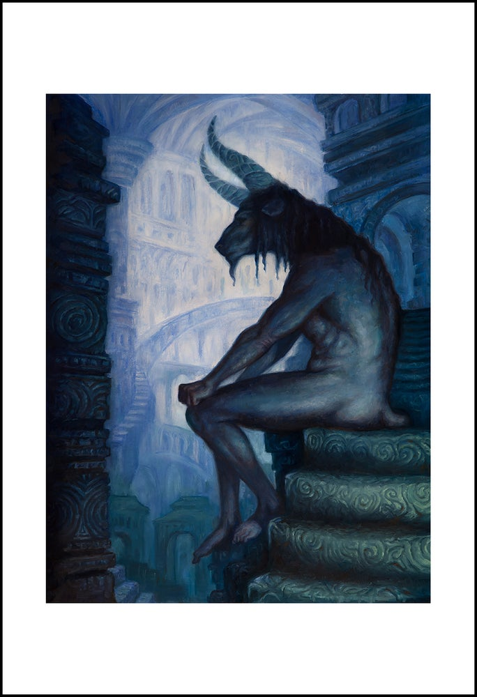Image of The Minotaur - Print