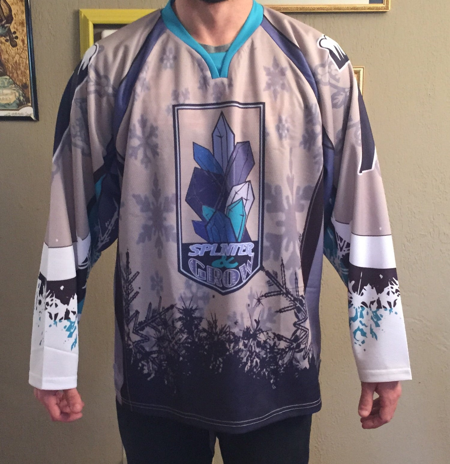 Image of SEVEN BELOW HOCKEY JERSEY