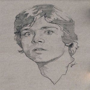 Image of Luke Skywalker 11x14
